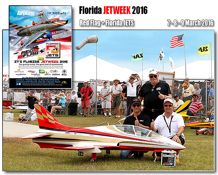 Florida Jets - red Flag competition